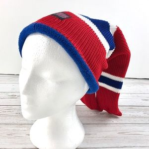 Hockey Sockey blue and red hat